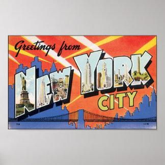 Vintage NewYorkCity Poster