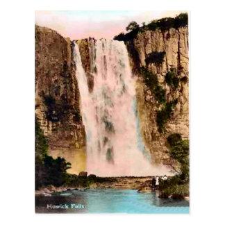 Vintage nHowick falls South AFrica Postcard
