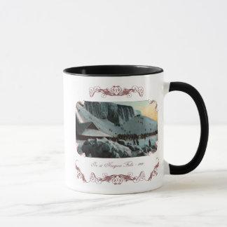 Vintage Niagara Falls Ice Coffee Mug
