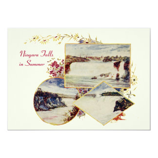 Vintage Niagara Falls Summer Party Invitation