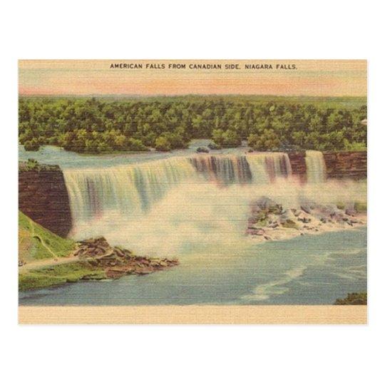 Vintage Niagara Falls Travel Postcard