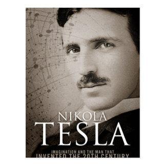 Vintage Nikola Tesla photo Postcard