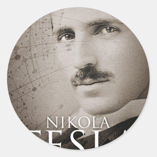 Vintage Nikola Tesla photo Stickers