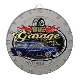 Vintage Nomad Garage Dartboard