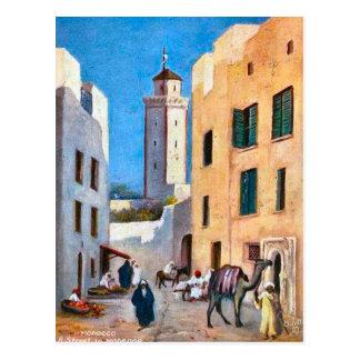 Vintage North Africa, Mogador, Morocco Postcard