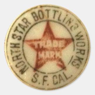 Vintage North Star Beer Stickers