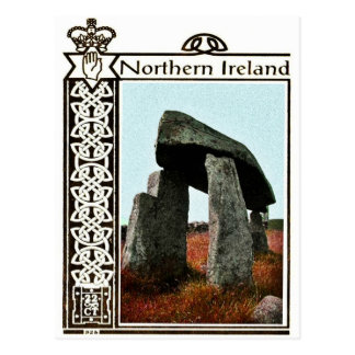Vintage Northern Ireland postcard