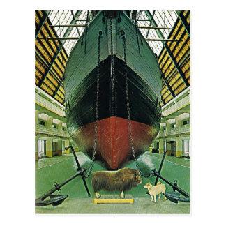 Vintage Norway,  Oslo, Nansen's 'Fram' Postcard