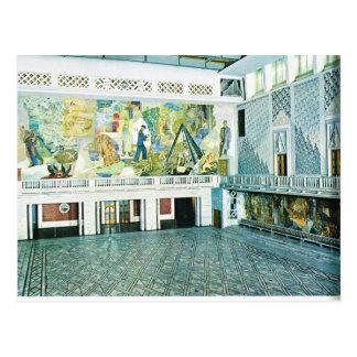 Vintage Norway, Oslo Town Hall, 1956 Postcard