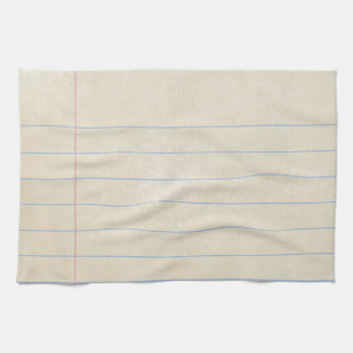 Vintage Note Card Index Card -Customize Your Towel