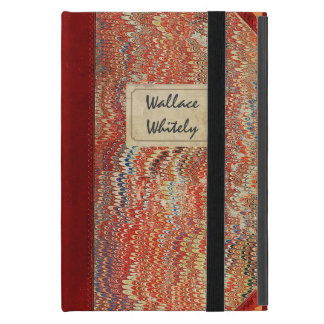 Vintage Notebook Cover For iPad Mini