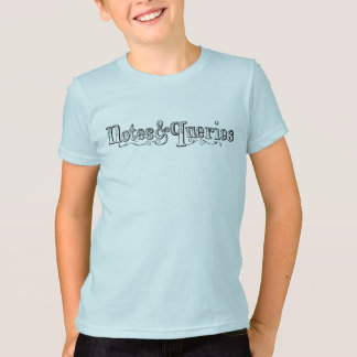 Vintage Notes And Queries Typograph T-Shirt