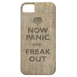 Vintage now Panic And Freak Out iPhone 5 Case