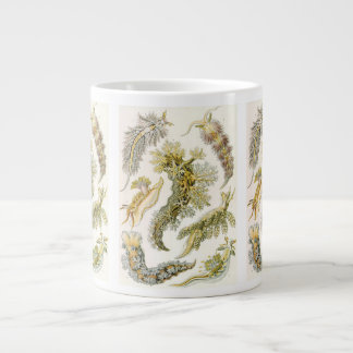 Vintage Nudibranchia, Sea Slugs by Ernst Haeckel Giant Coffee Mug