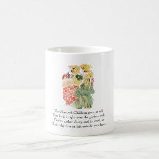 Vintage Nursery Rhyme Mustard Food Cute Kids Coffee Mug