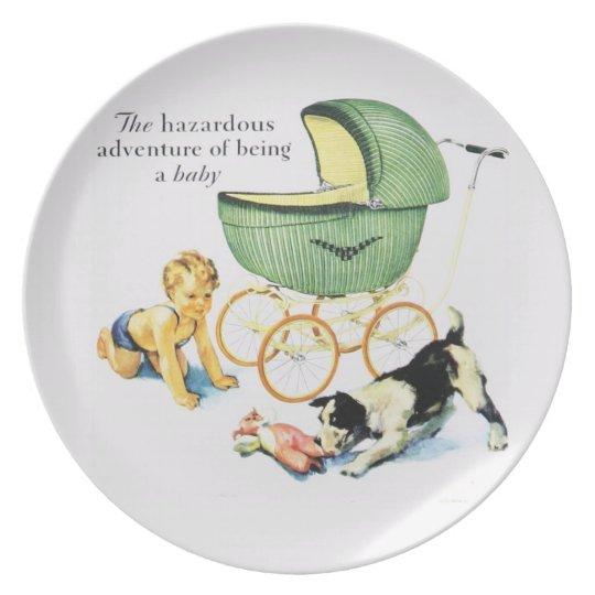 Vintage Nursery Wall Decoration Plate