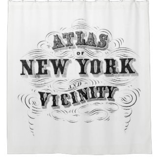 Vintage NYC Shower Curtain