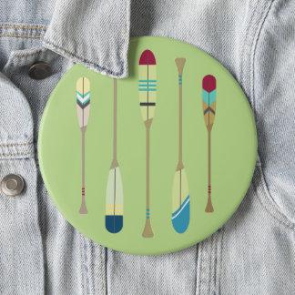 Vintage Oars 6 Inch Round Button