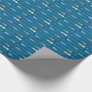 Vintage Oars Wrapping Paper
