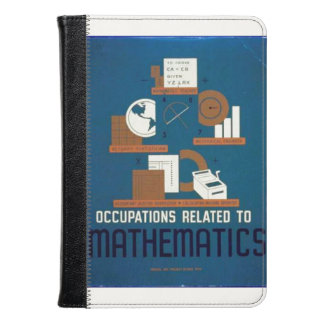 Vintage Occupations Related to Mathematics Poster