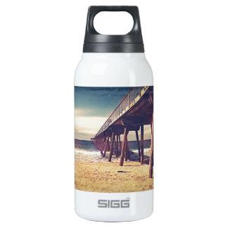 Vintage Ocean Pier Insulated Water Bottle