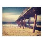 Vintage Ocean Pier Postcard