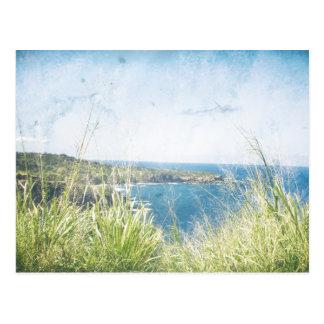 Vintage Ocean View | Postcard
