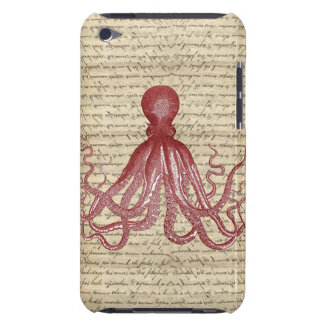 Vintage octopus barely there iPod covers