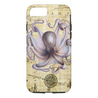 Vintage octopus iPhone 8/7 case