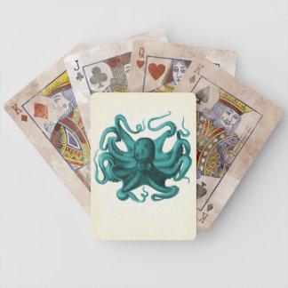 Vintage Octopus Poker Deck