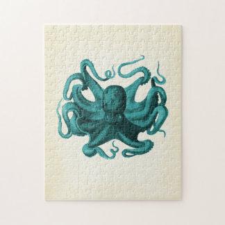 Vintage Octopus Puzzles