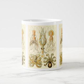 Vintage Octopus Squid Gamochonia by Ernst Haeckel Large Coffee Mug