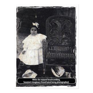 Vintage Odd Susannas Imaginary Friend Postcard