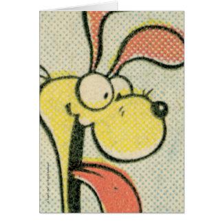 Vintage Odie, card