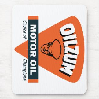 Vintage Oilzum motor oil sign Mouse Pad