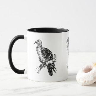 Vintage old buzzard coffee mug