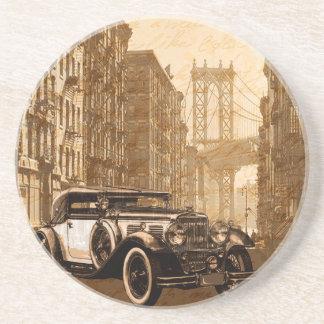 Vintage Old car Coaster