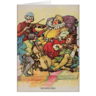 Vintage - Old King Cole, Card