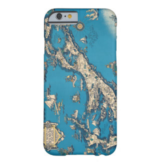 Vintage Old Map of the Bermuda Islands Barely There iPhone 6 Case