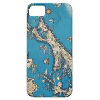 Vintage Old Map of the Bermuda Islands iPhone 5 Covers