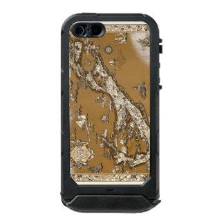 Vintage Old Map of the Bermuda Islands Sepia Tone Incipio ATLAS ID™ iPhone 5 Case