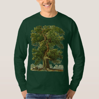 Vintage Old Oak Tree Gardening Tshirt