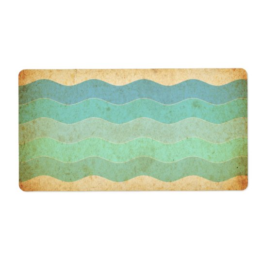 Vintage Old Paper Texture Shipping Label