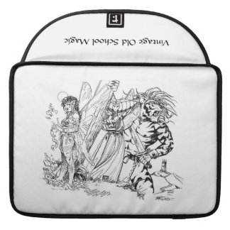 Vintage Old School Magic Mischief in the Mountains Sleeve For MacBook Pro