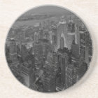 Vintage Old Style New York City Script Coaster