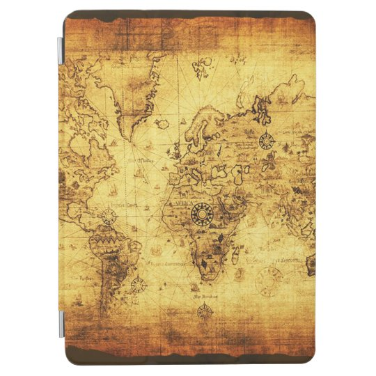 Vintage Old World Map iPad Air Cover
