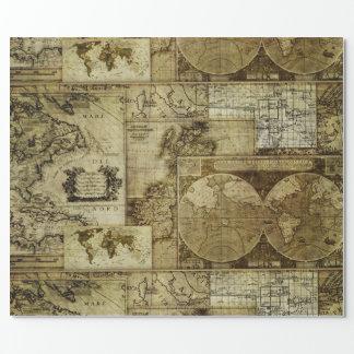 Vintage old world Maps Antique maps Pattern