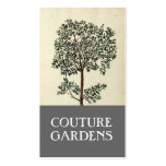 Vintage Olive Tree Gardener Business Card