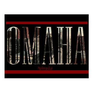 Vintage Omaha Postcard Design