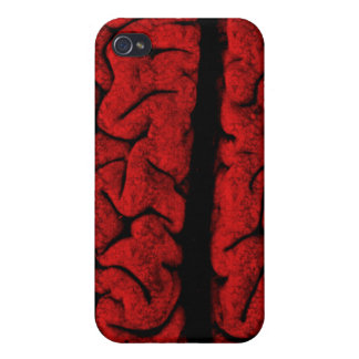 Vintage On The Brain  iPhone 4 Cover
